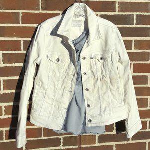 White Denim Levis White Jeans Jackets Boho Cotton